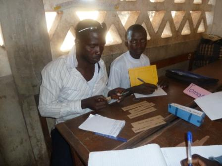 Material production - teachers learn how to produce their own low cost material